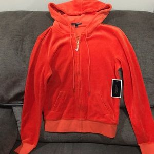Juicy Couture Firecracker Red Hoodie